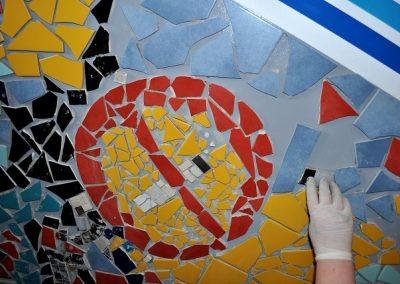 Mosaikkunst im Schlupfwinkel