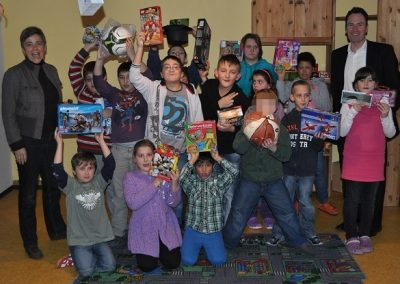 Leuchtende Kinderaugen Dank Cortal Consors S.A.