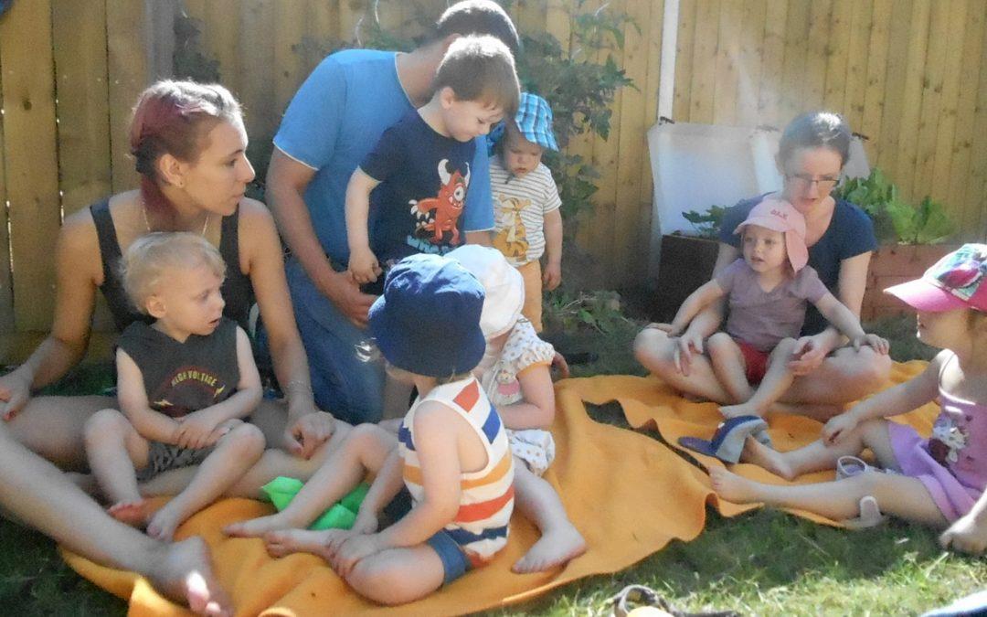 Aktionstag Musik in der Kinderkrippe Wichtelhaus