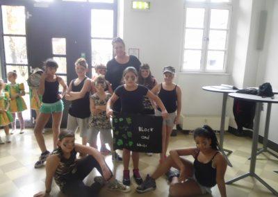 Die Tanzgruppe der HPT beim Kinderdancefestival der Stadt Nürnberg