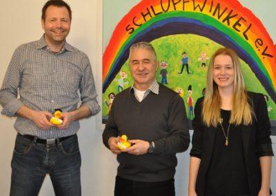 Der Schlupfwinkel e.V. freut sich über € 1.500 Spende der VariFast GmbH