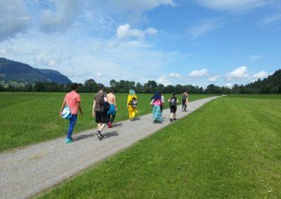 Ferienfreizeit der Heilpädagogischen Wohngruppe in Sonthofen