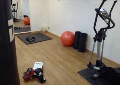 Ein Fitnessraum für unsere Wohngruppen in der Lichtenhofstraße