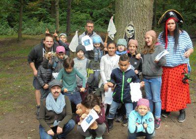 Abenteuer-Waldspiel der HPT