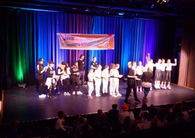 """Die """"Duckface Gang"""" der Schlupfwinkel-HPT beim Junior Dance Festival"""