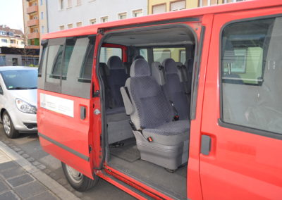 Spendenaufruf für einen Bus