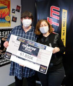 C. Goldberg und Mitarbeiterin Star FM