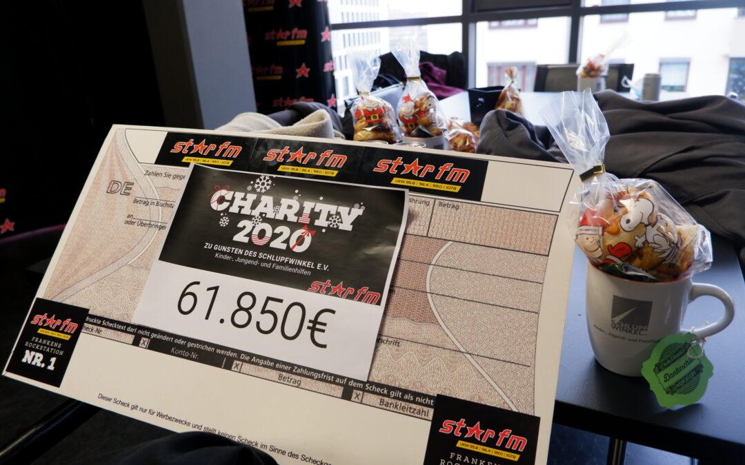 Spendenaktion Radio Star FM Scheckübergabe